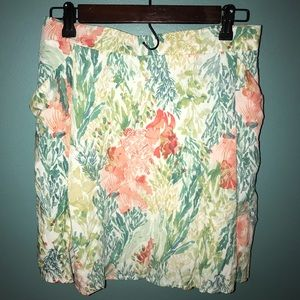 Old Navy Floral Skirt